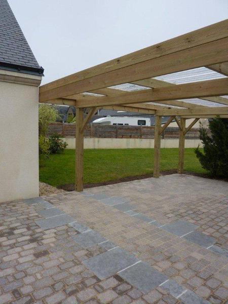 Abris bois du paysagiste sur nantes - Abri jardin reglementation nantes ...
