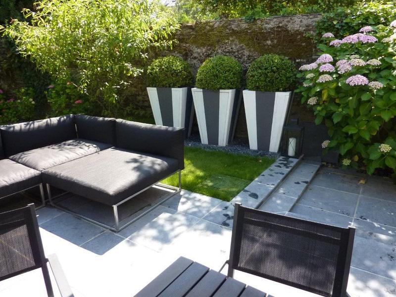 Terrasse jardin paysagiste nantes 44 for Amenagement balcon terrasse appartement